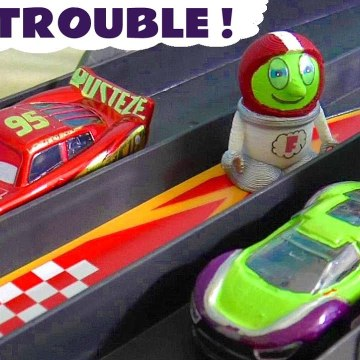 Driver Funling Car Trouble from the Funny Funlings with Disney Cars Lightning McQueen in this Family Friendly Full Episode English Toy Story Video for Kids from Kid Friendly Family Channel Toy Trains 4U