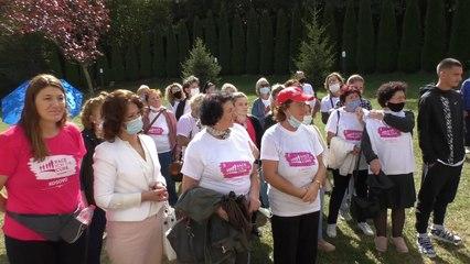 Marsh kundër kancerit të gjirit-Lajme