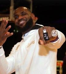Voilà la bague de champions NBA 2020 pour les Lakers de Los Angeles