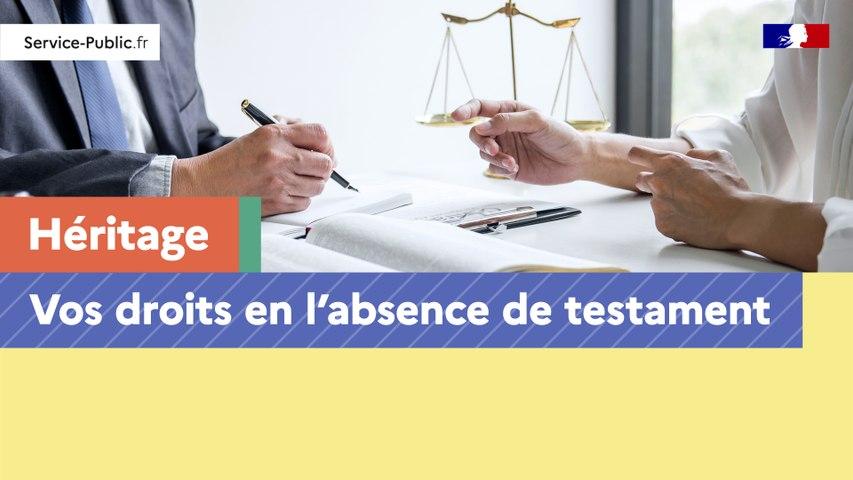 Héritage : vos droits en l'absence de testament
