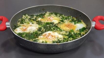 Burani me spinaq dhe vezë nga zonja Vjollca