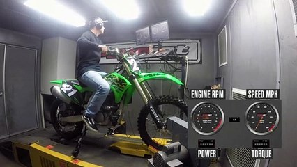 2021 Kawasaki KX250 Dyno Test