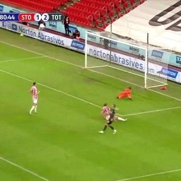 Harry Kane Goal - Stoke City 1-3 Tottenham (Full Replay)