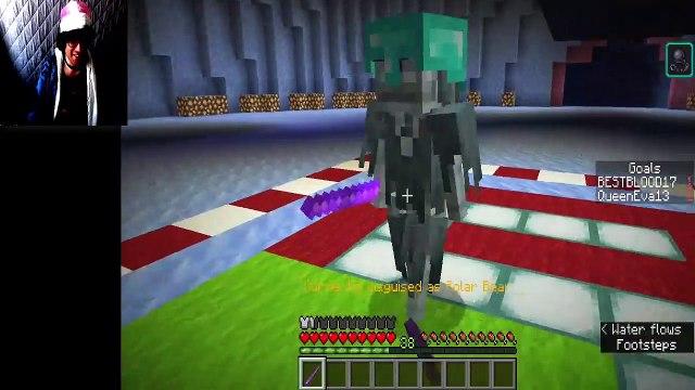 Ice Hockey | Minecraft:  Christmas Special | VampireRealm Minigame