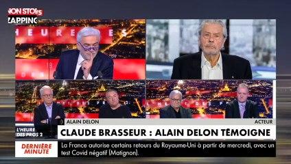 L'heure des Pros : Alain Delon peine à reconnaître Pascal Praud (vidéo)