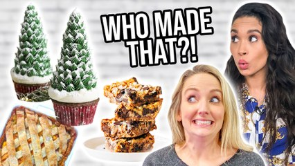 ULTIMATE HOLIDAY DESSERT SWAP! Making Our Favorite Family Recipe