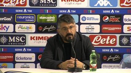 """Gattuso: """"Il nostro obiettivo è entrare in Champions"""""""