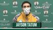 Jayson Tatum Hits Game Winning 3 Pointer Against Bucks _ Postgame Interview