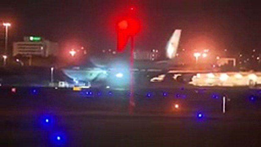 Trump arrives in Florida on Air Force 1