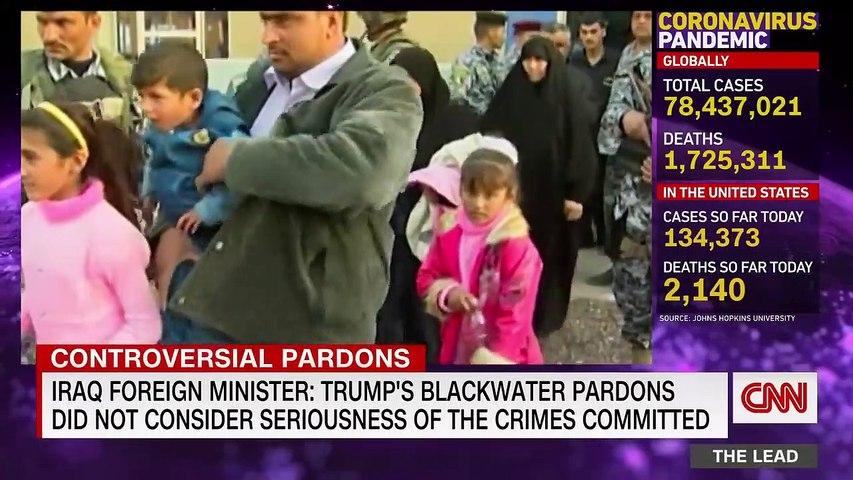 Trump pardons US contractors convicted in Iraq massacre
