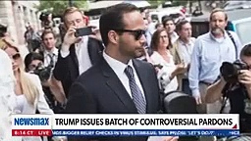 George Papadopoulos reacts to being pardoned by Trump