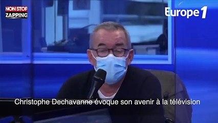 Christophe Dechavanne évoque son avenir à la télévision (vidéo)