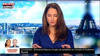 """Coronavirus : Emmanuel Macron """"ne présente plus de symptômes"""" (vidéo)"""
