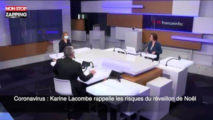 Coronavirus : Karine Lacombe rappelle les risques du réveillon de Noël (vidéo)