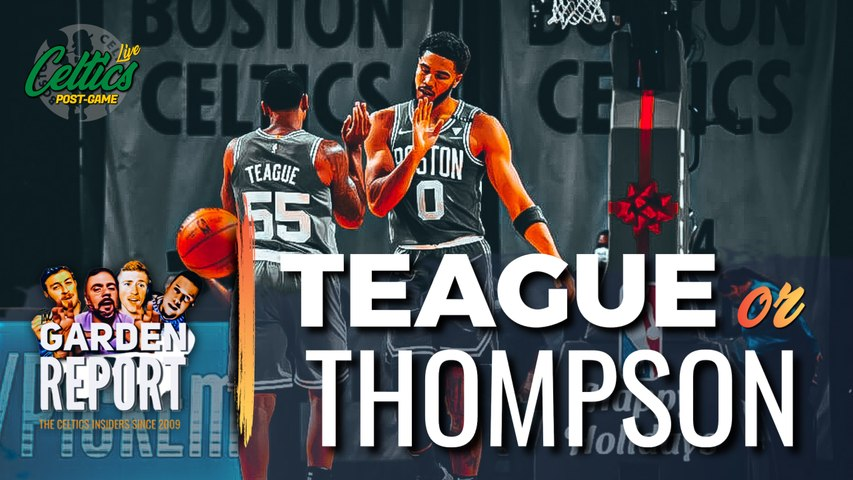 Jeff Teague Explodes in Celtics Debut