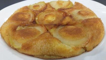 Tortë e shpejtë me mollë në tigan nga zonja Vjollca