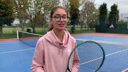 Tenistja kampione nga Shkodra/ Gresi Bajri 14 vjec, fiton trofeun në turneun e Shkupit