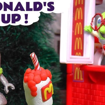 McDonalds Mix Up with the Funny Funlings and Disney Pixar Cars Lightning McQueen plus Marvel Avengers Hulk in this family friendly full episode english toy story for kids