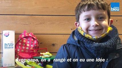 Noël : à Avallon, Ethan, six ans, décide de donner ses jouets aux enfants qui n'en ont pas