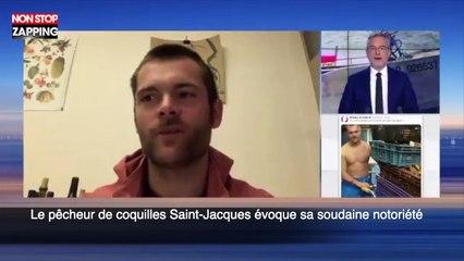 Le pêcheur de coquilles Saint-Jacques évoque sa soudaine notoriété (vidéo)