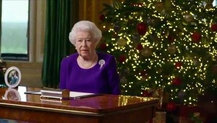 Elizabeth II : son message d'espoir dans son allocution de Noël (vidéo)