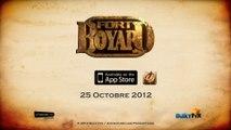 Présentation de la nouvelle application Fort Boyard sur smartphone (dès le 25/10/2012)