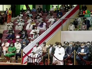 RTB /  Extrait du discours officiel du président Roch Marc Christian Kaboré investi pour son 2e mandat