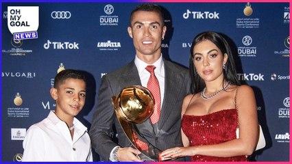 Ce que Cristiano Ronaldo a dit sur son fils montre à quel point c'est un père exigeant   Oh My Goal