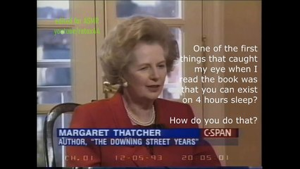 Unintentional ASMR - Margaret Thatcher (English Accent) Interview Excerpts_Career As Prime Minister