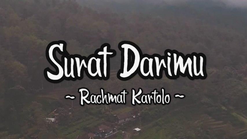 Rachmat Kartolo - Surat Darimu (Official Lyric Video)