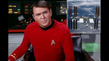 Star Trek actor James Doohan's ashes secretly beamed up to space