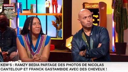 Kem's : Ramzy Bedia partage des photos de Nicolas Canteloup et Franck Gastambide avec des cheveux ! (vidéo)