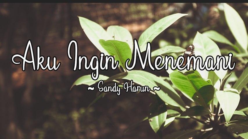 Sandy Harun - Aku Ingin Menemani (Official Lyric Video)