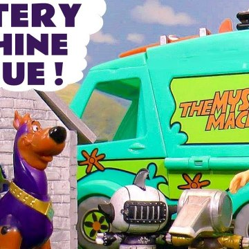 Scooby Doo Movie Mystery Machine Rescue with Marvel Avengers Ultron and the Funny Funlings with Scoob in this Family Friendly Full Episode English Toy Story Video for Kids from Kid Friendly Family Channel Toy Trains 4U
