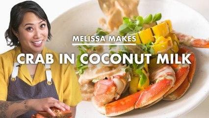 Melissa Makes Crab in Coconut Milk (Ginataang Alimasag)