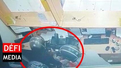 Hold-up à la Western Union de Beau-Bassin : plus de Rs 1 million emportées, voici les images CCTV