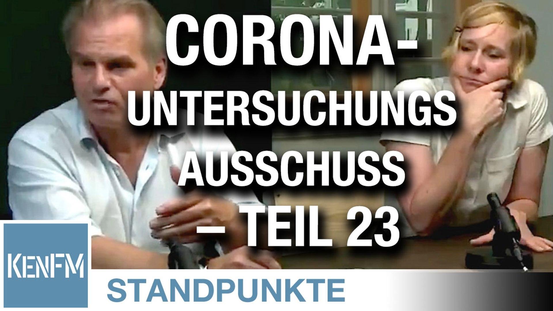 Corona-Untersuchungsausschuss – Teil 23