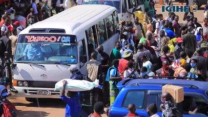 Kigali_ Imodoka zabaye iyanga ku ruvunganzoka rw'abashaka kujya kwizihiriza iminsi mikuru mu ntara