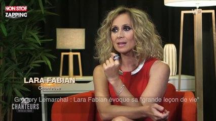 "Grégory Lemarchal : Lara Fabian évoque sa ""grande leçon de vie"" (vidéo)"