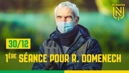 Groupe pro : première séance avec Raymond Domenech