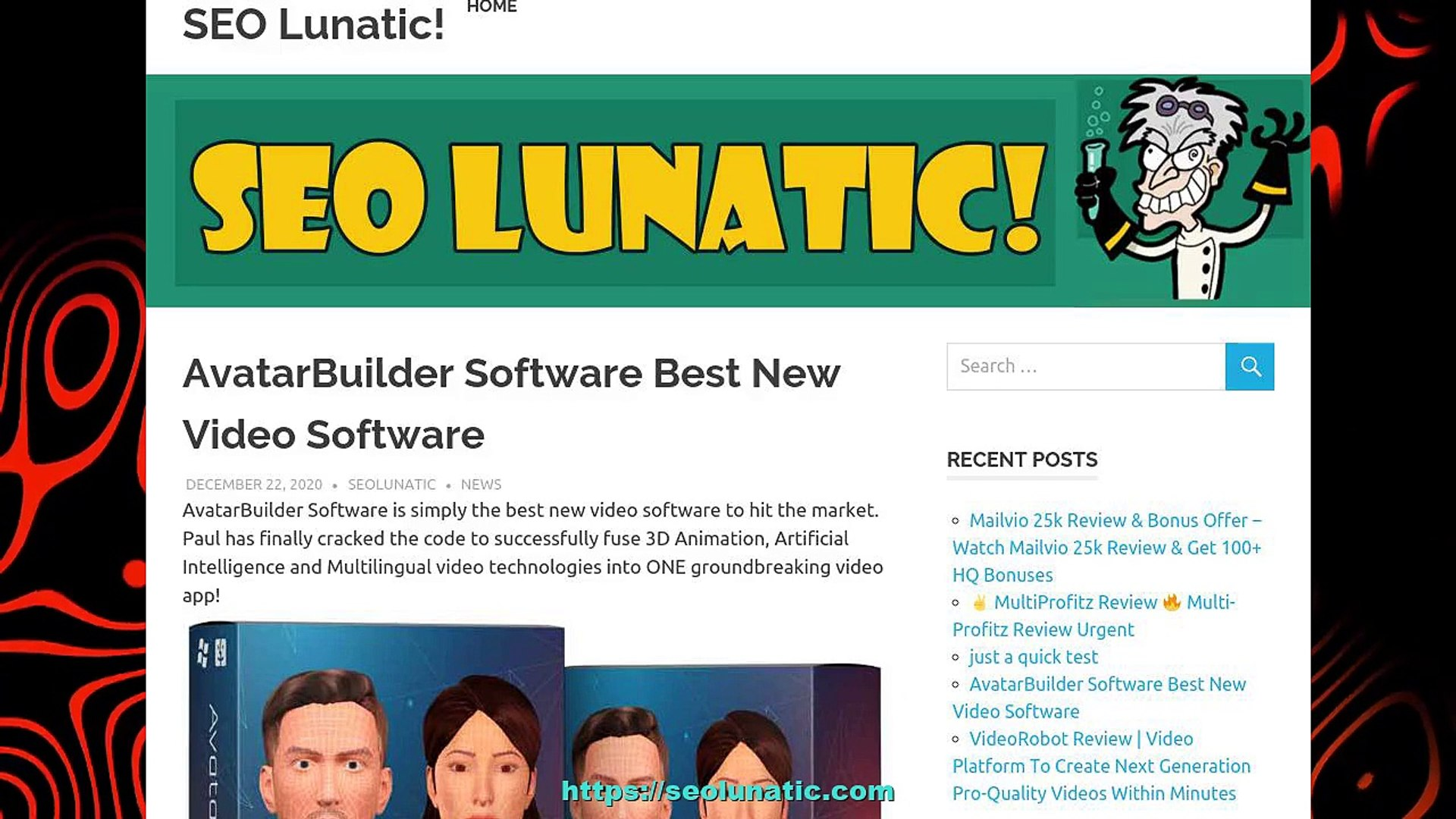 AvatarBuilder Software Best New Video Software