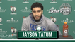 Jayson Tatum Postgame Interview | Celtics vs Grizzlies | Jaylen Brown Game