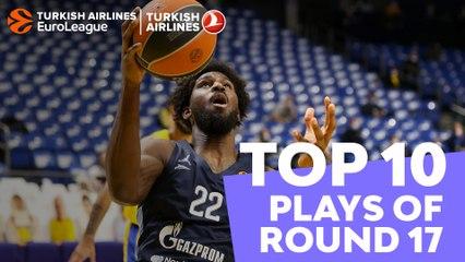 Regular Season Round 17 Top 10 Plays