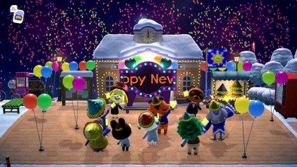 Animal Crossing - Happy 2021!!!