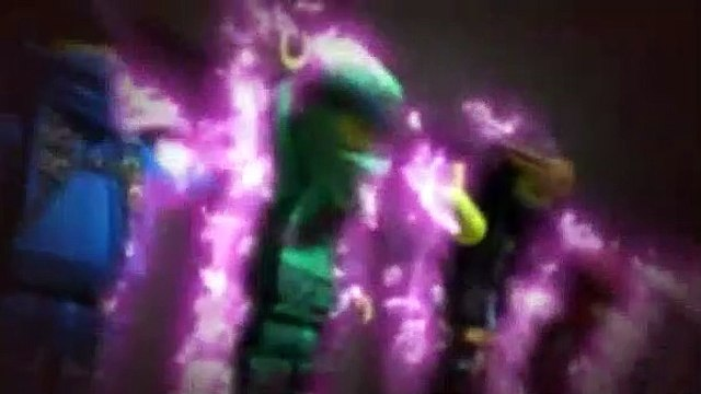 LEGO Ninjago Masters Of Spinjitzu Season 12 Episode 7 - Ninja vs Lava