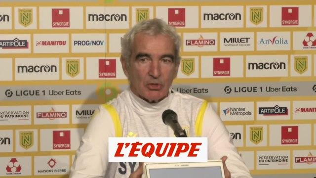 Revivez en intégralité la première conférence de presse de Raymond Domenech - Foot - L1 - Nantes