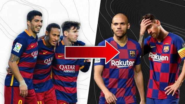 Mais qu'est-il arrivé à l'attaque du FC Barcelone ? | Oh My Goal