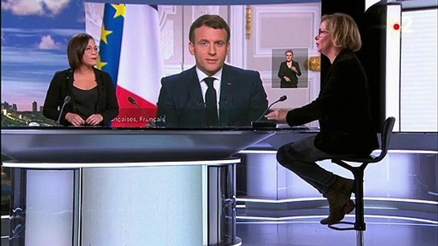 Vœux présidentiels : ce qu'il faut retenir de l'allocution d'Emmanuel Macron