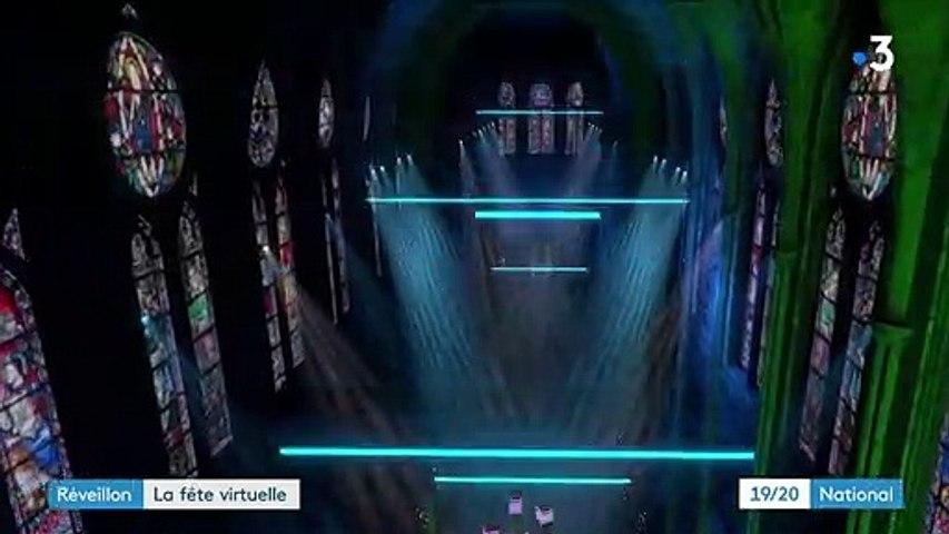 Nouvel An : un spectacle en réalité virtuelle et des soirées en visio