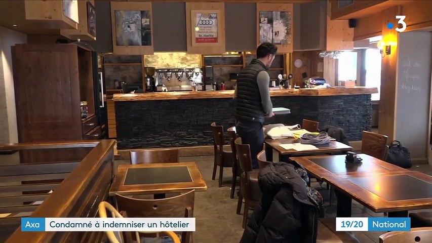Crise sanitaire : Axa condamné à indemniser un hôtelier-restaurateur